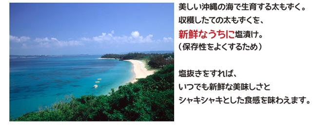 沖縄県産のもずく