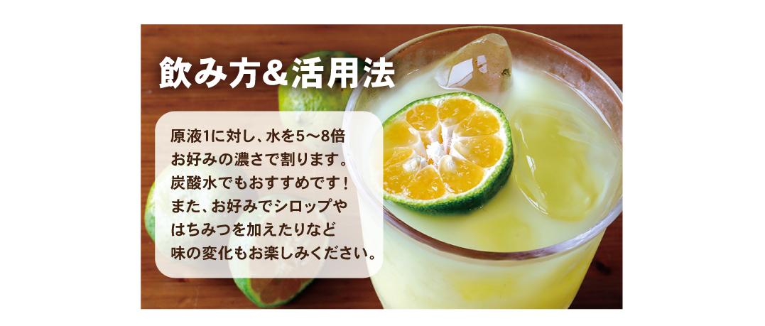 シークヮーサーの飲み方&活用方法